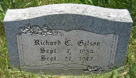 GILSON, RICHARD C. - Kewaunee County, Wisconsin | RICHARD C. GILSON - Wisconsin Gravestone Photos