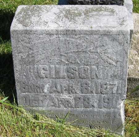 GILSON, SAM - Kewaunee County, Wisconsin   SAM GILSON - Wisconsin Gravestone Photos