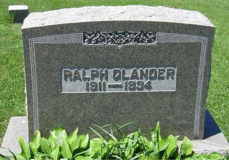 GLANDER, RALPH - Kewaunee County, Wisconsin | RALPH GLANDER - Wisconsin Gravestone Photos