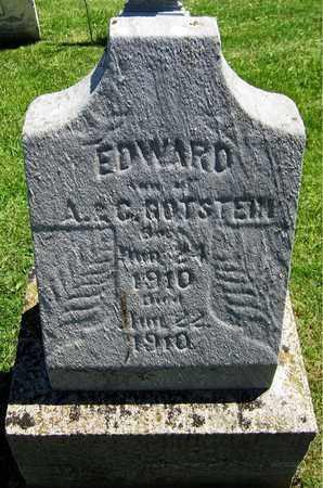 GOTSTEIN, EDWARD - Kewaunee County, Wisconsin | EDWARD GOTSTEIN - Wisconsin Gravestone Photos