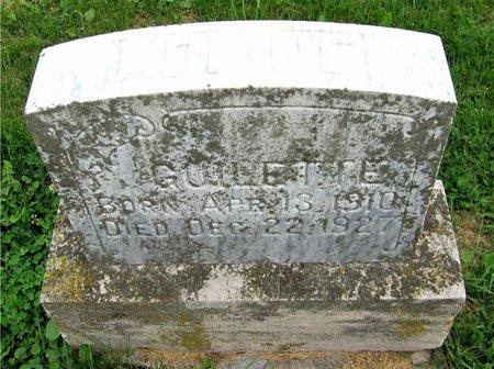 GUILETTE, ADINE - Kewaunee County, Wisconsin   ADINE GUILETTE - Wisconsin Gravestone Photos