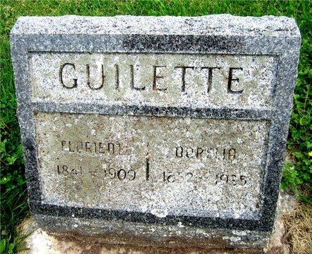 GUILETTE, FLORIENT - Kewaunee County, Wisconsin   FLORIENT GUILETTE - Wisconsin Gravestone Photos