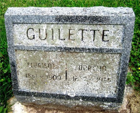 GUILETTE, FLORIENT - Kewaunee County, Wisconsin | FLORIENT GUILETTE - Wisconsin Gravestone Photos