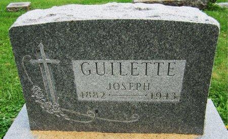 GUILETTE, JOSEPH - Kewaunee County, Wisconsin | JOSEPH GUILETTE - Wisconsin Gravestone Photos