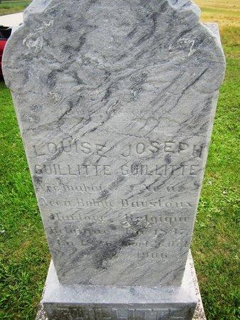 GUILLITTE, JOSEPH - Kewaunee County, Wisconsin   JOSEPH GUILLITTE - Wisconsin Gravestone Photos