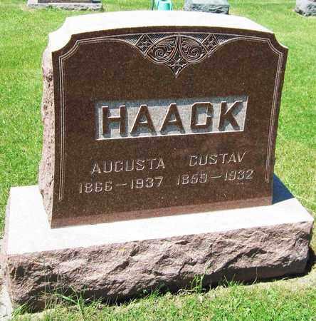 HAACK, AUGUSTA - Kewaunee County, Wisconsin   AUGUSTA HAACK - Wisconsin Gravestone Photos