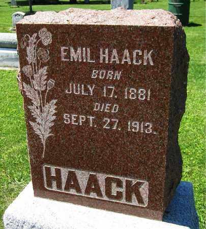 HAACK, EMIL - Kewaunee County, Wisconsin   EMIL HAACK - Wisconsin Gravestone Photos