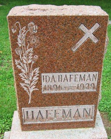 HAFEMAN, IDA - Kewaunee County, Wisconsin | IDA HAFEMAN - Wisconsin Gravestone Photos