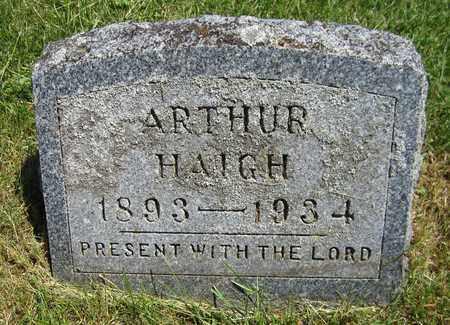HAIGH, ARTHUR - Kewaunee County, Wisconsin | ARTHUR HAIGH - Wisconsin Gravestone Photos