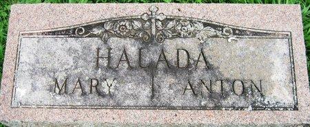 HALADA, ANTON - Kewaunee County, Wisconsin   ANTON HALADA - Wisconsin Gravestone Photos