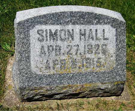HALL, SIMON - Kewaunee County, Wisconsin | SIMON HALL - Wisconsin Gravestone Photos