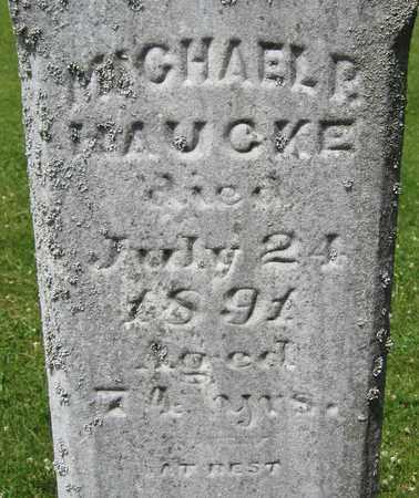 HAUCKE, MICHAEL P. - Kewaunee County, Wisconsin | MICHAEL P. HAUCKE - Wisconsin Gravestone Photos