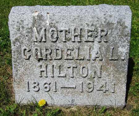 HILTON, CORDELIA L. - Kewaunee County, Wisconsin | CORDELIA L. HILTON - Wisconsin Gravestone Photos