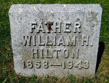 HILTON, WILLIAM H. - Kewaunee County, Wisconsin | WILLIAM H. HILTON - Wisconsin Gravestone Photos