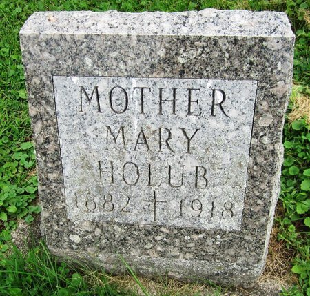 HOLUB, MARY - Kewaunee County, Wisconsin | MARY HOLUB - Wisconsin Gravestone Photos