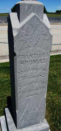 HROMAS, FRANTISKA - Kewaunee County, Wisconsin | FRANTISKA HROMAS - Wisconsin Gravestone Photos