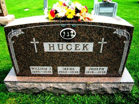 HUCEK, JOSEPH - Kewaunee County, Wisconsin   JOSEPH HUCEK - Wisconsin Gravestone Photos