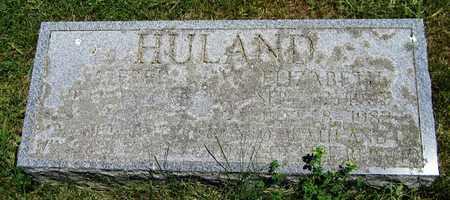 HULAND, ALFRED - Kewaunee County, Wisconsin | ALFRED HULAND - Wisconsin Gravestone Photos
