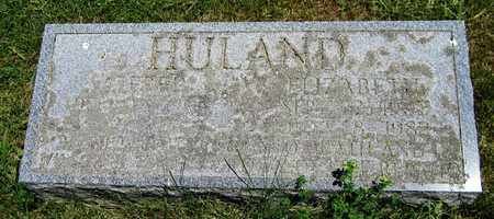 HULAND, ELIZABETH - Kewaunee County, Wisconsin | ELIZABETH HULAND - Wisconsin Gravestone Photos