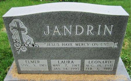 JANDRIN, LAURA - Kewaunee County, Wisconsin | LAURA JANDRIN - Wisconsin Gravestone Photos