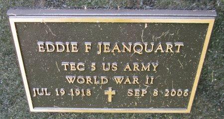 JEANQUART, EDDIE F. - Kewaunee County, Wisconsin | EDDIE F. JEANQUART - Wisconsin Gravestone Photos
