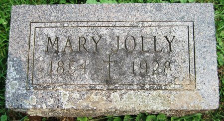 JOLLY, MARY - Kewaunee County, Wisconsin | MARY JOLLY - Wisconsin Gravestone Photos