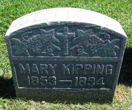 KIPPING, MARY - Kewaunee County, Wisconsin | MARY KIPPING - Wisconsin Gravestone Photos