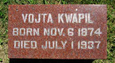 KWAPIL, VOJTA - Kewaunee County, Wisconsin | VOJTA KWAPIL - Wisconsin Gravestone Photos