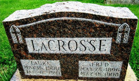 LACROSSE, FRED - Kewaunee County, Wisconsin   FRED LACROSSE - Wisconsin Gravestone Photos