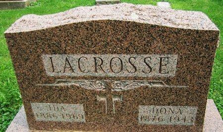 LACROSSE, IDA - Kewaunee County, Wisconsin | IDA LACROSSE - Wisconsin Gravestone Photos