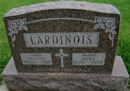 LARDINOIS, ODILE - Kewaunee County, Wisconsin   ODILE LARDINOIS - Wisconsin Gravestone Photos
