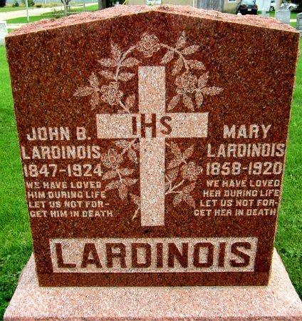 LARDINOIS, JOHN B. - Kewaunee County, Wisconsin | JOHN B. LARDINOIS - Wisconsin Gravestone Photos