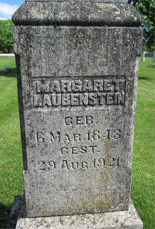 LAUBENSTEIN, MARGARET - Kewaunee County, Wisconsin | MARGARET LAUBENSTEIN - Wisconsin Gravestone Photos