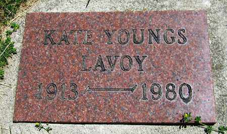 YOUNGS LAVOY, KATE - Kewaunee County, Wisconsin | KATE YOUNGS LAVOY - Wisconsin Gravestone Photos