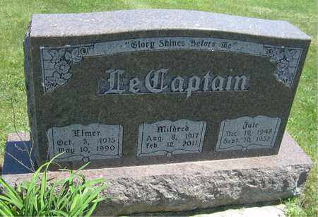LECAPTAIN, MILDRED - Kewaunee County, Wisconsin   MILDRED LECAPTAIN - Wisconsin Gravestone Photos