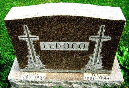 LEDOCQ, JULE - Kewaunee County, Wisconsin | JULE LEDOCQ - Wisconsin Gravestone Photos