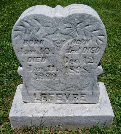 LEFEVRE, INFANT - Kewaunee County, Wisconsin | INFANT LEFEVRE - Wisconsin Gravestone Photos