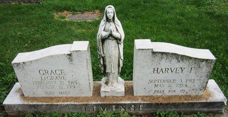 LEGRAVE LEMENSE, GRACE - Kewaunee County, Wisconsin | GRACE LEGRAVE LEMENSE - Wisconsin Gravestone Photos