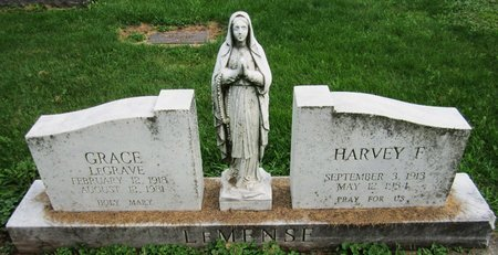 LEMENSE, HARVEY - Kewaunee County, Wisconsin | HARVEY LEMENSE - Wisconsin Gravestone Photos