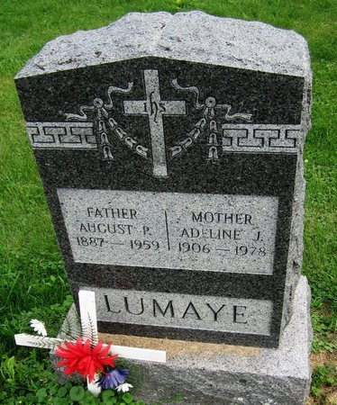 LUMAYE, AUGUST P. - Kewaunee County, Wisconsin | AUGUST P. LUMAYE - Wisconsin Gravestone Photos