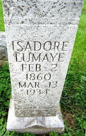 LUMAYE, ISADORE - Kewaunee County, Wisconsin   ISADORE LUMAYE - Wisconsin Gravestone Photos