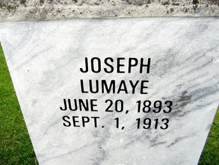 LUMAYE, JOSEPH - Kewaunee County, Wisconsin | JOSEPH LUMAYE - Wisconsin Gravestone Photos
