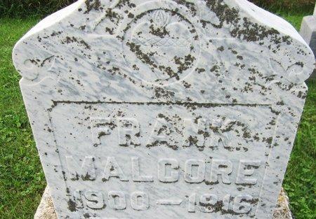 MALCORE, FRANK - Kewaunee County, Wisconsin | FRANK MALCORE - Wisconsin Gravestone Photos