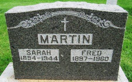 MARTIN, SARAH - Kewaunee County, Wisconsin | SARAH MARTIN - Wisconsin Gravestone Photos