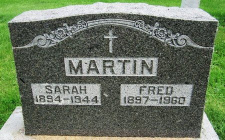 MARTIN, FRED - Kewaunee County, Wisconsin | FRED MARTIN - Wisconsin Gravestone Photos