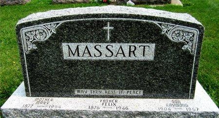 MASSART, FELIX - Kewaunee County, Wisconsin   FELIX MASSART - Wisconsin Gravestone Photos