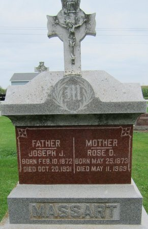 MASSART, JOSEPH J. - Kewaunee County, Wisconsin | JOSEPH J. MASSART - Wisconsin Gravestone Photos