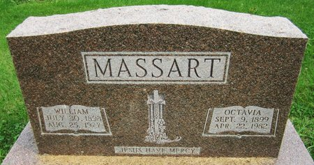 MASSART, WILLIAM - Kewaunee County, Wisconsin | WILLIAM MASSART - Wisconsin Gravestone Photos