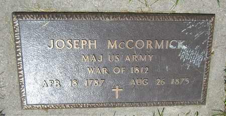 MCCORMICK, JOSEPH - Kewaunee County, Wisconsin | JOSEPH MCCORMICK - Wisconsin Gravestone Photos