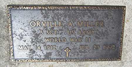 MILLER, ORVILLE A. - Kewaunee County, Wisconsin | ORVILLE A. MILLER - Wisconsin Gravestone Photos